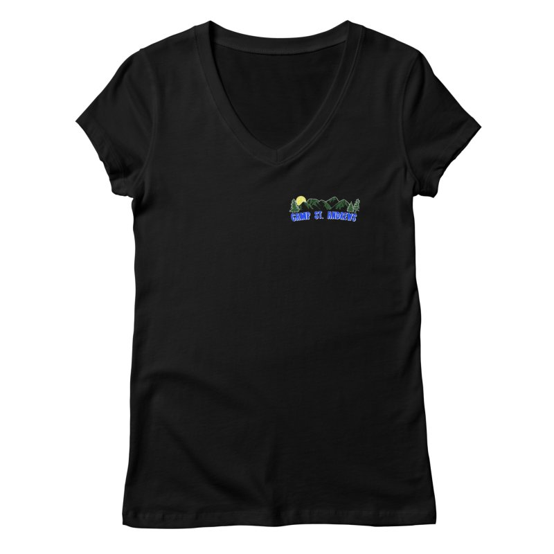CSA Mountains Color Women's V-Neck by Camp St. Andrews