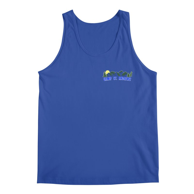 CSA Mountains Color Men's Regular Tank by Camp St. Andrews