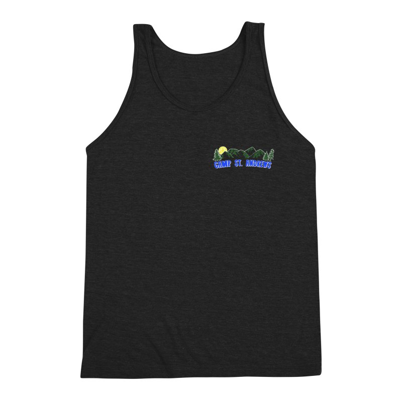 CSA Mountains Color Men's Triblend Tank by Camp St. Andrews