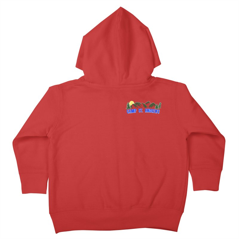 CSA Mountains Color Kids Toddler Zip-Up Hoody by Camp St. Andrews