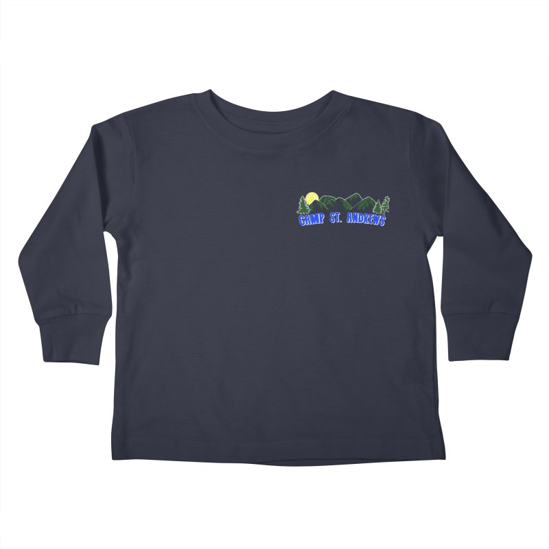 CSA Mountains Color Kids Toddler Longsleeve T-Shirt by Camp St. Andrews