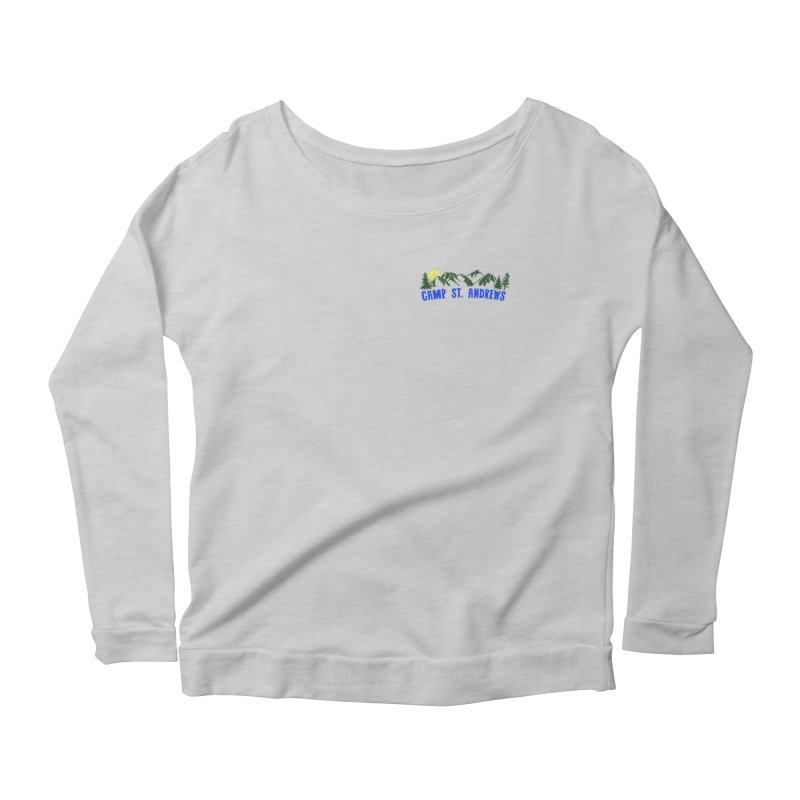 CSA Mountains Color Women's Scoop Neck Longsleeve T-Shirt by Camp St. Andrews