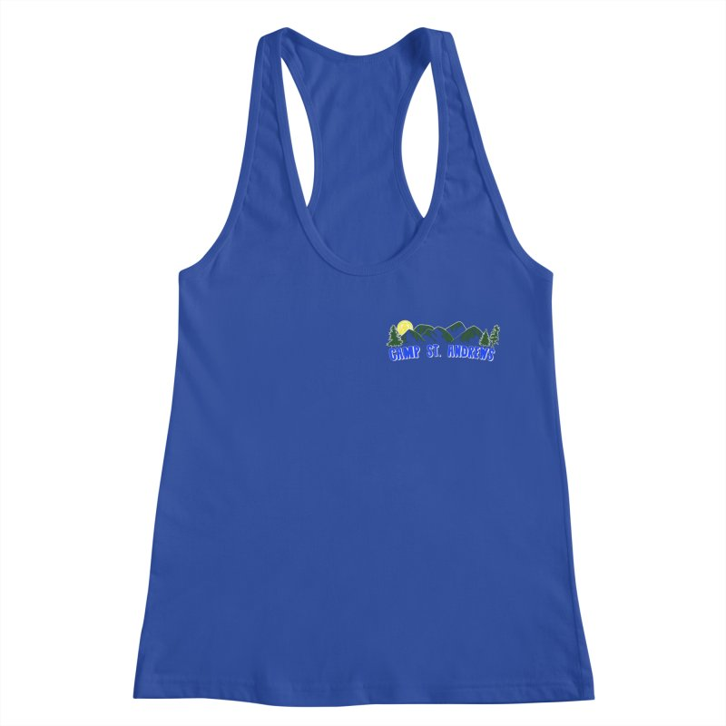 CSA Mountains Color Women's Racerback Tank by Camp St. Andrews