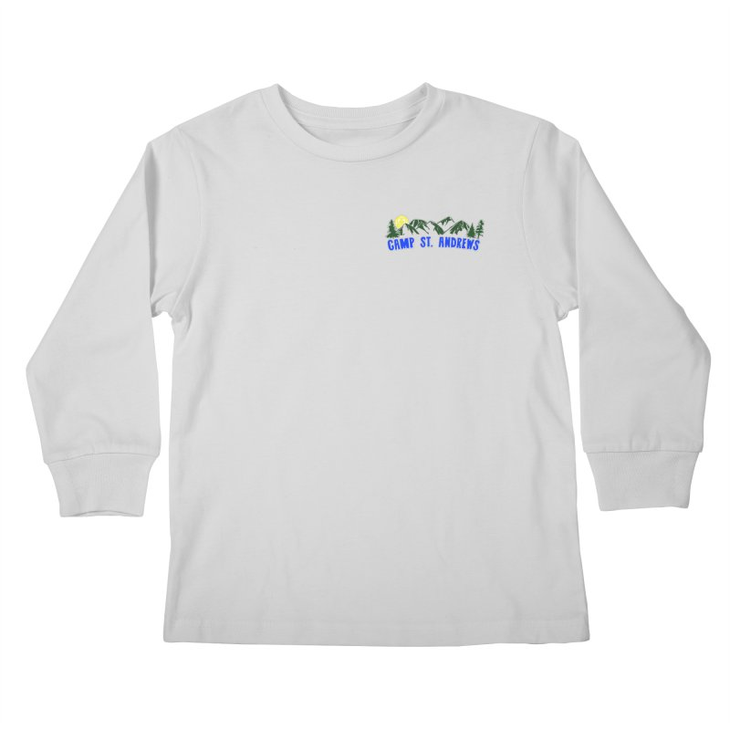 CSA Mountains Color Kids Longsleeve T-Shirt by Camp St. Andrews