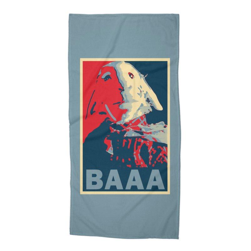 The Baaaudacity of Baaa Accessories Beach Towel by Camp St. Andrews