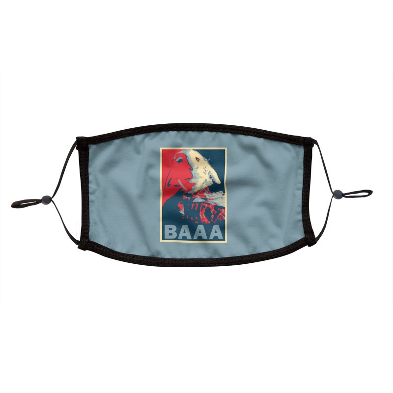 The Baaaudacity of Baaa Accessories Face Mask by Camp St. Andrews