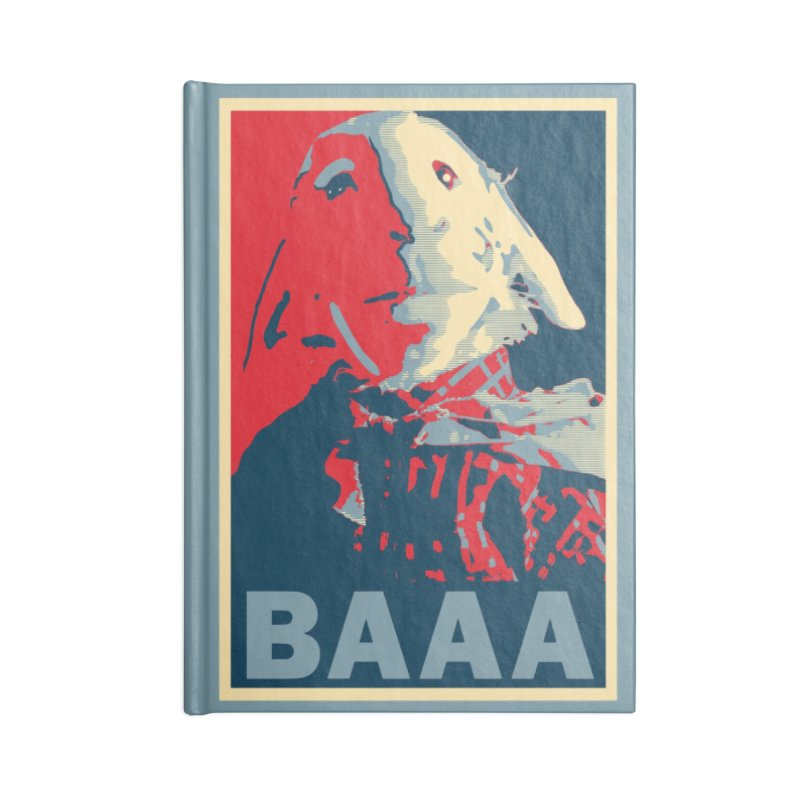The Baaaudacity of Baaa Accessories Notebook by Camp St. Andrews