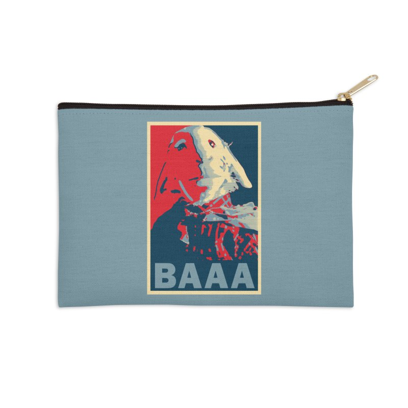 The Baaaudacity of Baaa Accessories Zip Pouch by Camp St. Andrews