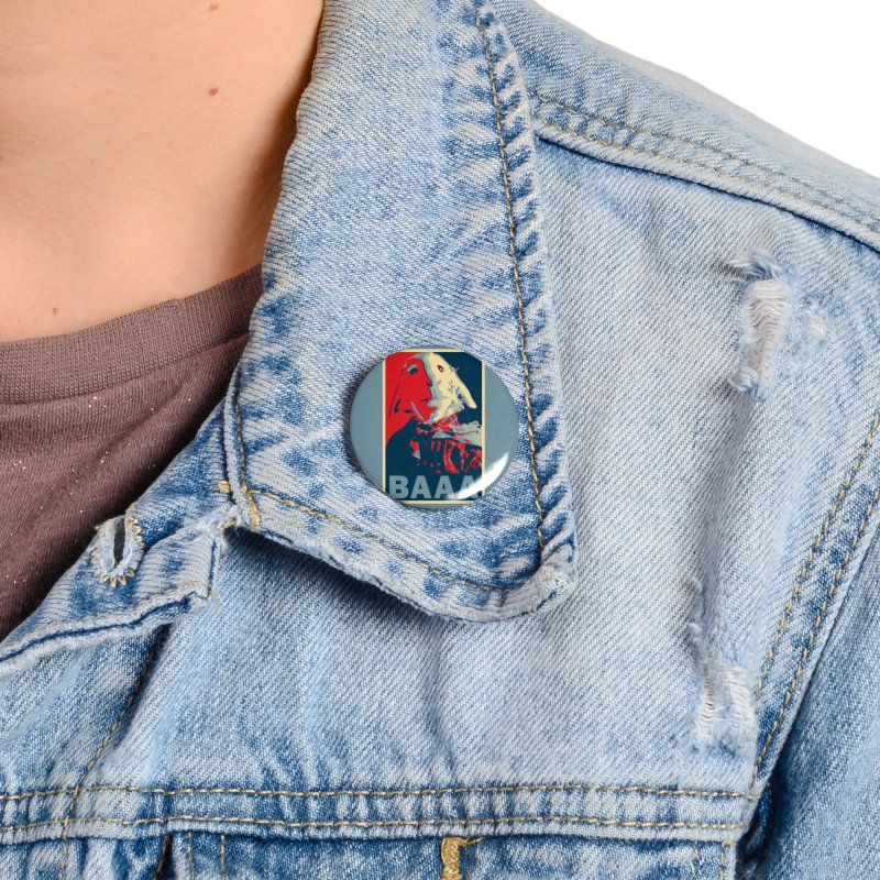 The Baaaudacity of Baaa Accessories Button by Camp St. Andrews