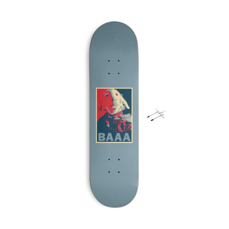 The Baaaudacity of Baaa Accessories Skateboard by Camp St. Andrews