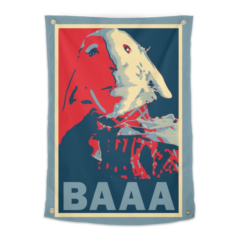 The Baaaudacity of Baaa Home Tapestry by Camp St. Andrews