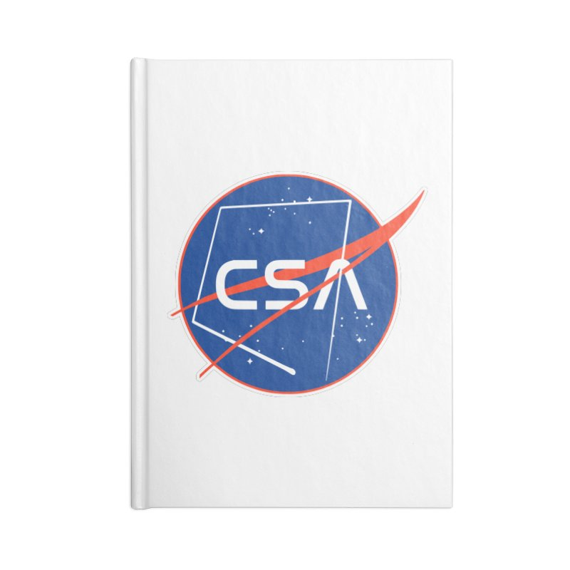 Camp Space Andrews Accessories Lined Journal Notebook by Camp St. Andrews