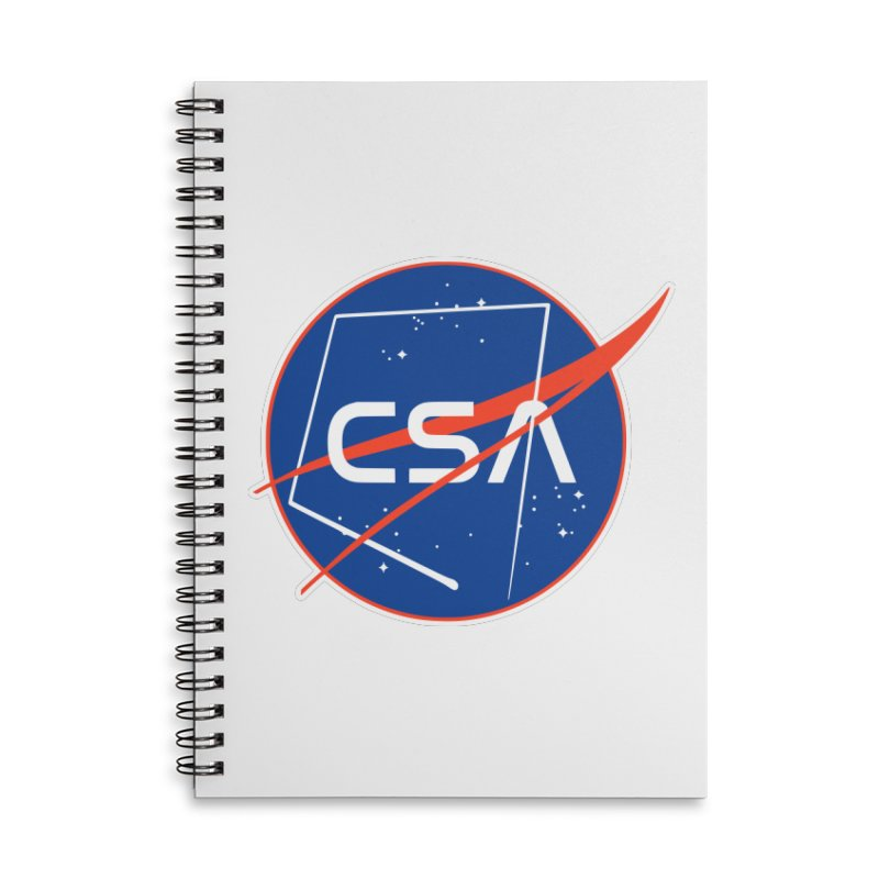 Camp Space Andrews Accessories Lined Spiral Notebook by Camp St. Andrews