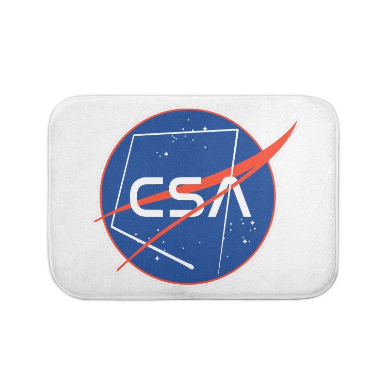 Camp Space Andrews Home Bath Mat by Camp St. Andrews