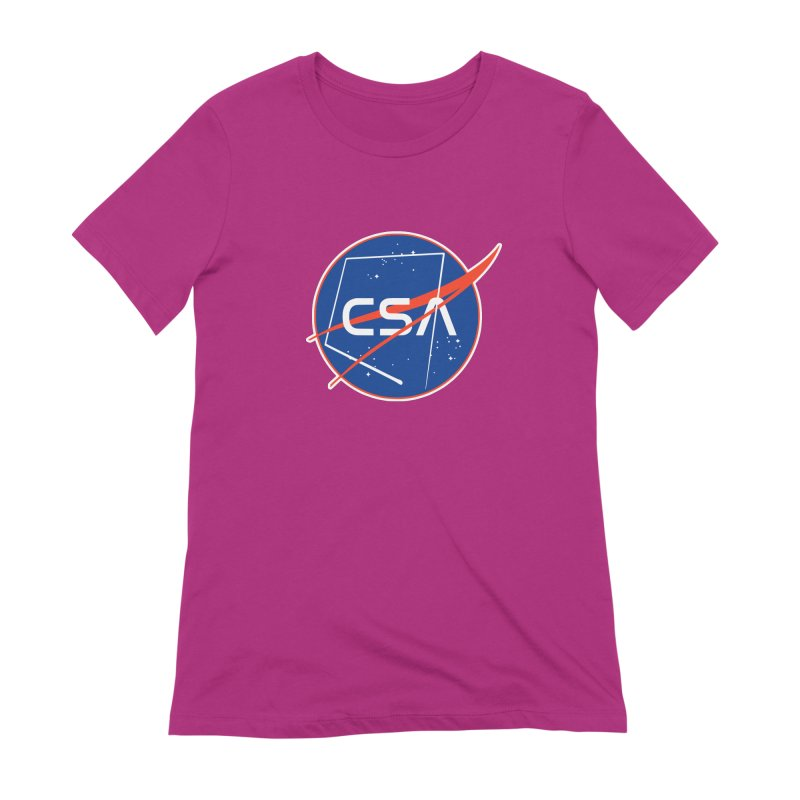 Camp Space Andrews Women's Extra Soft T-Shirt by Camp St. Andrews