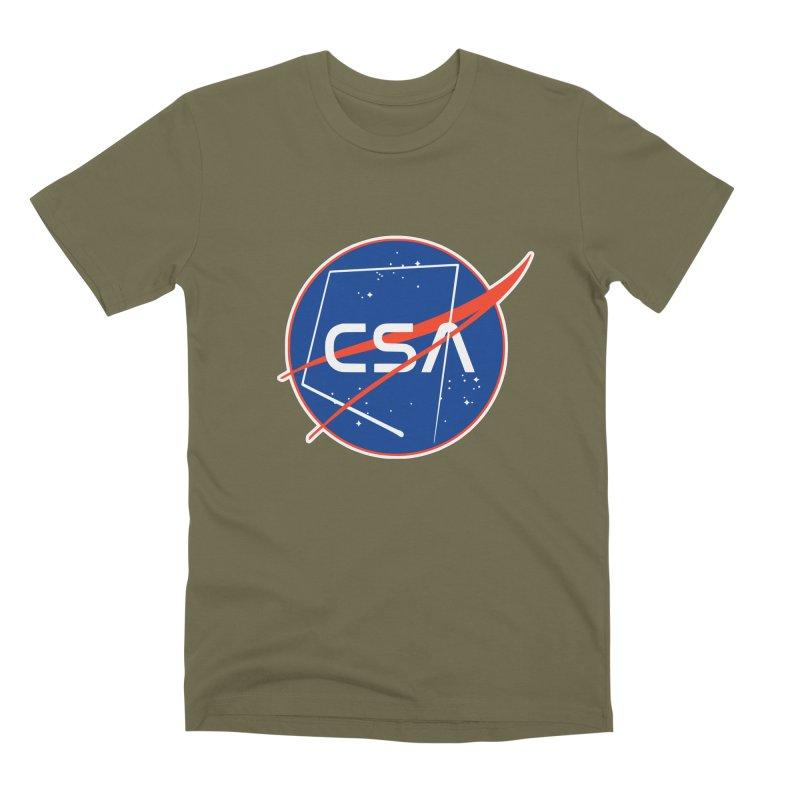 Camp Space Andrews Men's Premium T-Shirt by Camp St. Andrews