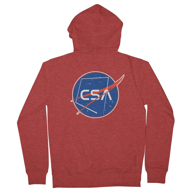 Camp Space Andrews Men's French Terry Zip-Up Hoody by Camp St. Andrews
