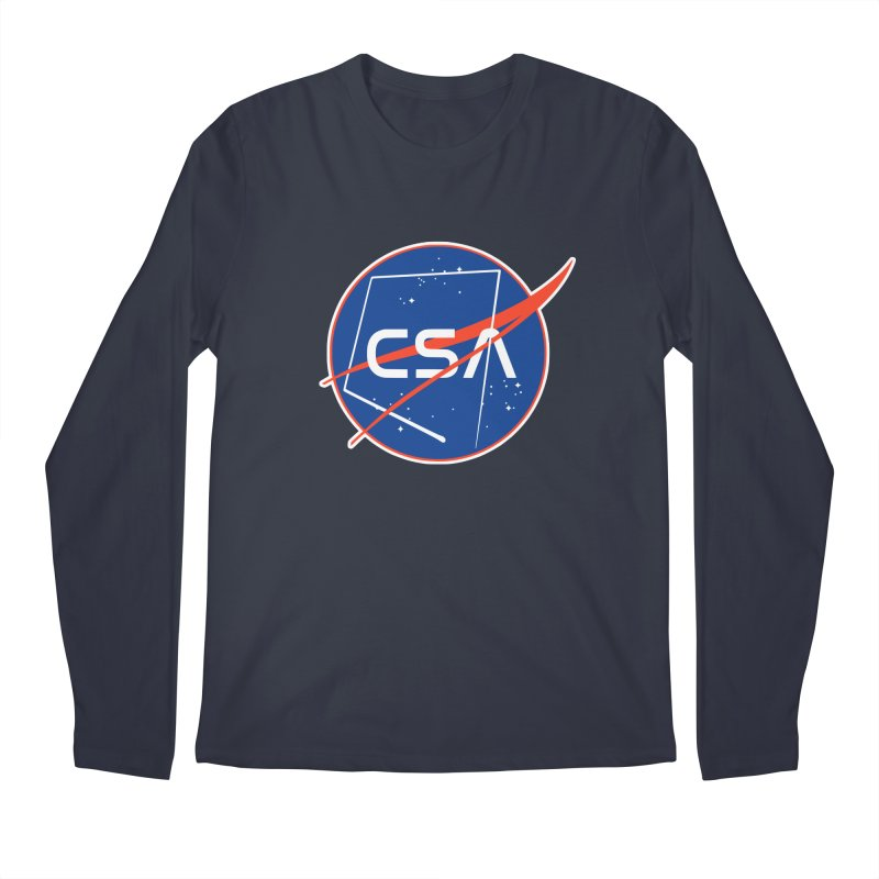 Camp Space Andrews Men's Regular Longsleeve T-Shirt by Camp St. Andrews