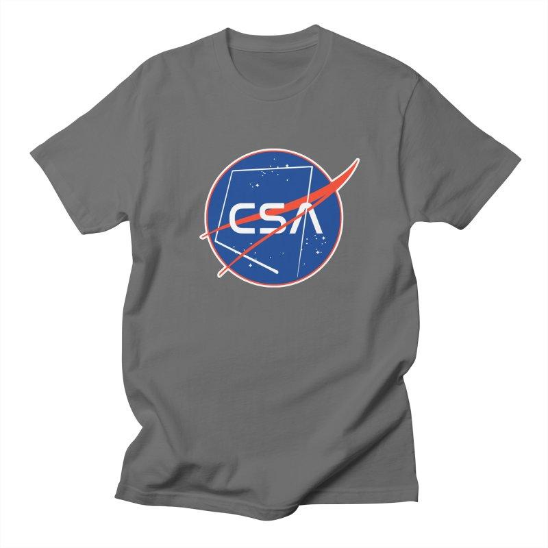 Camp Space Andrews Men's Regular T-Shirt by Camp St. Andrews