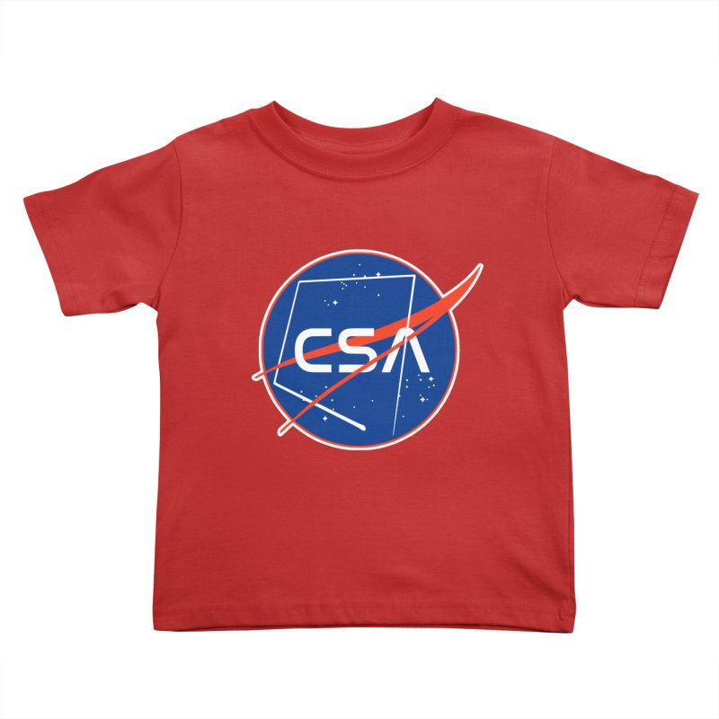 Camp Space Andrews Kids Toddler T-Shirt by Camp St. Andrews