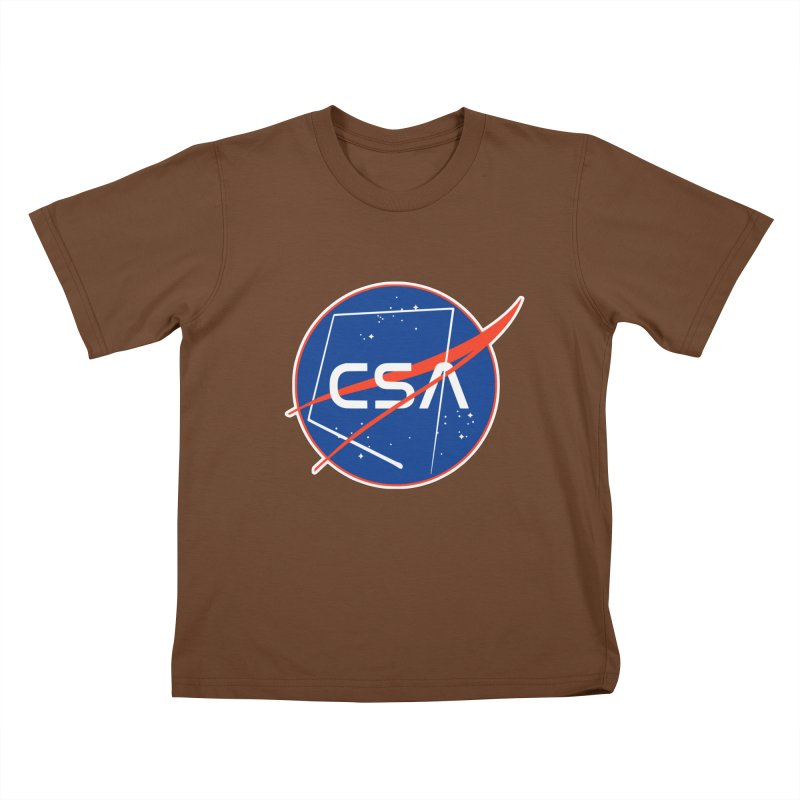 Camp Space Andrews Kids T-Shirt by Camp St. Andrews