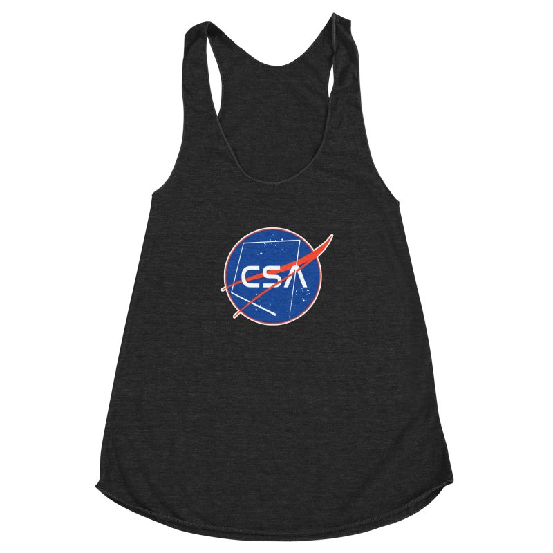 Camp Space Andrews Women's Racerback Triblend Tank by Camp St. Andrews