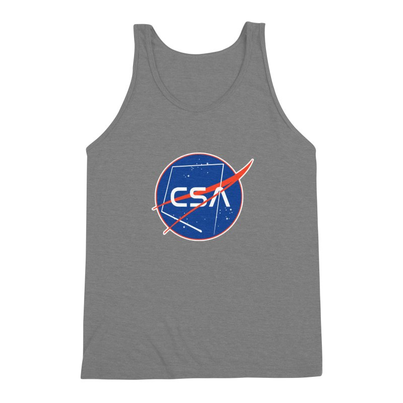 Camp Space Andrews Men's Triblend Tank by Camp St. Andrews