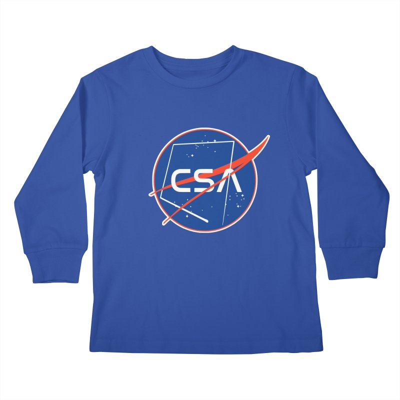 Camp Space Andrews Kids Longsleeve T-Shirt by Camp St. Andrews