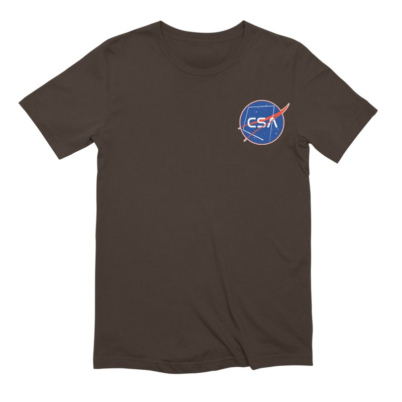 Camp Space Andrews Men's Extra Soft T-Shirt by Camp St. Andrews