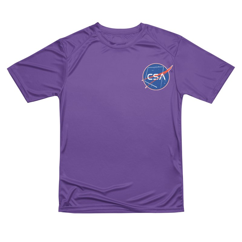 Camp Space Andrews Men's Performance T-Shirt by Camp St. Andrews
