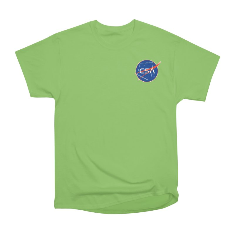 Camp Space Andrews Women's Heavyweight Unisex T-Shirt by Camp St. Andrews