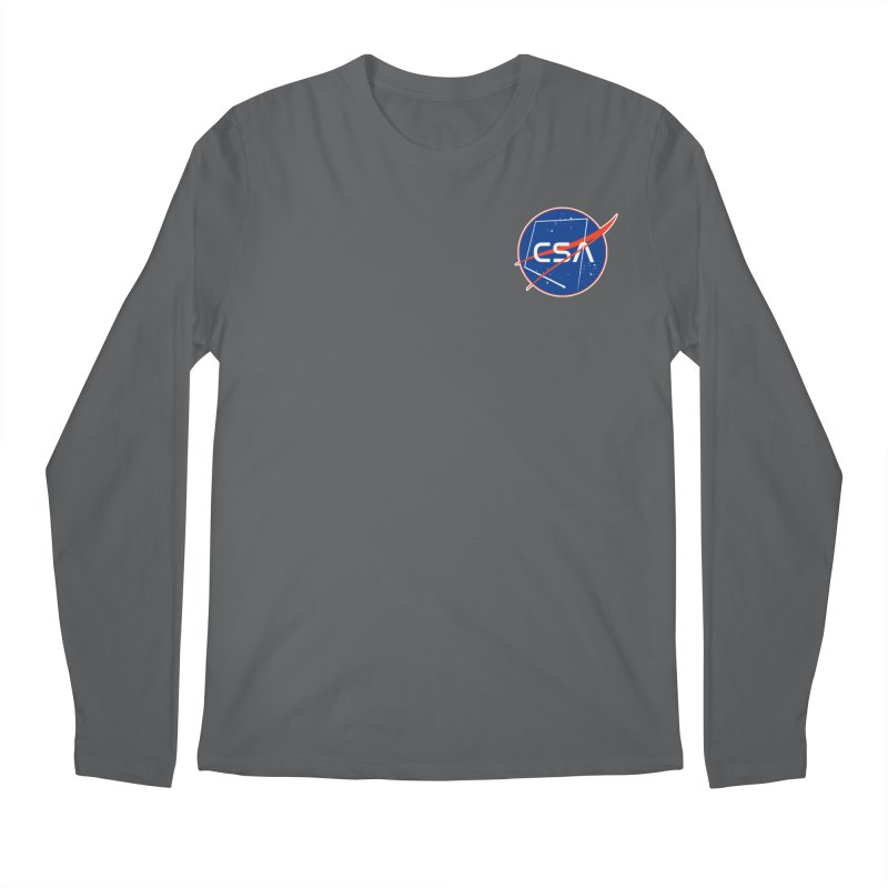 Camp Space Andrews Men's Longsleeve T-Shirt by Camp St. Andrews
