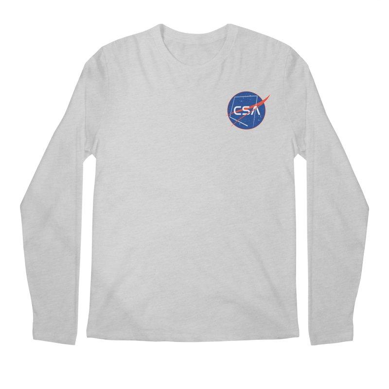 Camp Space Andrews Men's Regular Longsleeve T-Shirt by Camp St. Andrews
