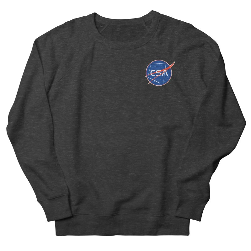 Camp Space Andrews Men's French Terry Sweatshirt by Camp St. Andrews