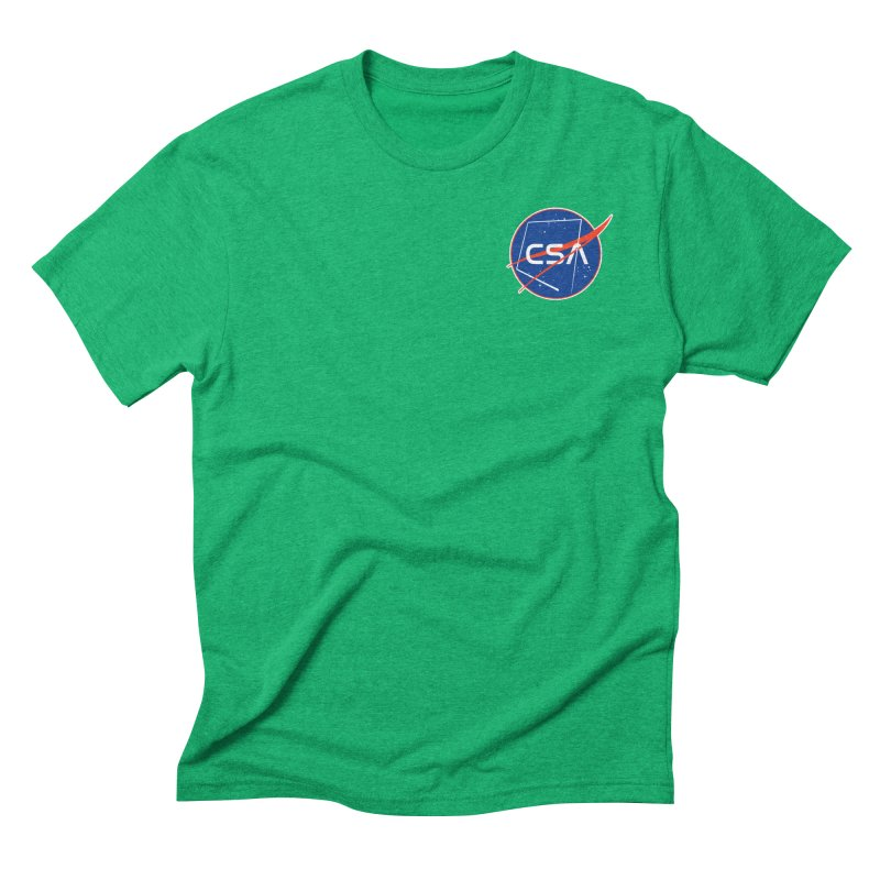 Camp Space Andrews Men's Triblend T-Shirt by Camp St. Andrews