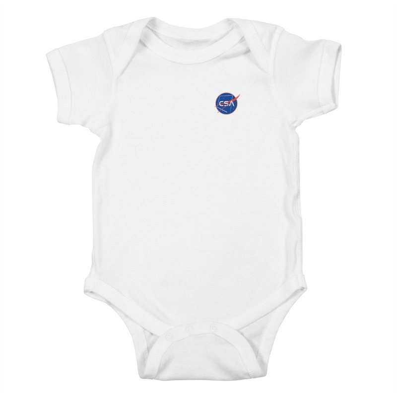 Camp Space Andrews Kids Baby Bodysuit by Camp St. Andrews