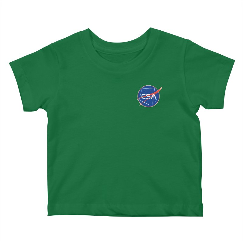 Camp Space Andrews Kids Baby T-Shirt by Camp St. Andrews