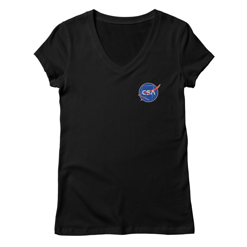 Camp Space Andrews Women's V-Neck by Camp St. Andrews