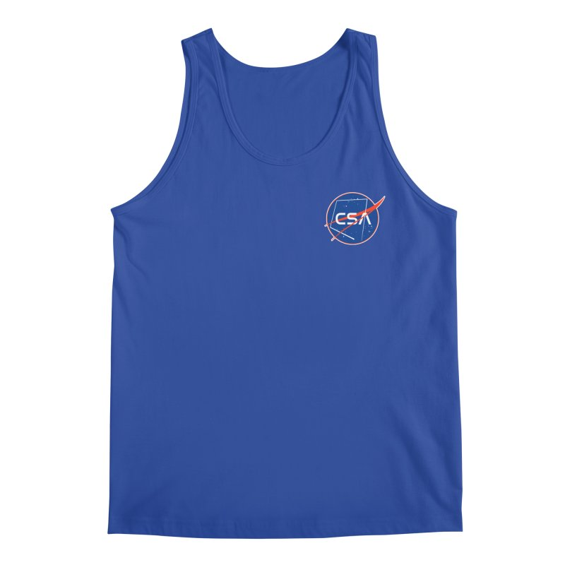 Camp Space Andrews Men's Regular Tank by Camp St. Andrews