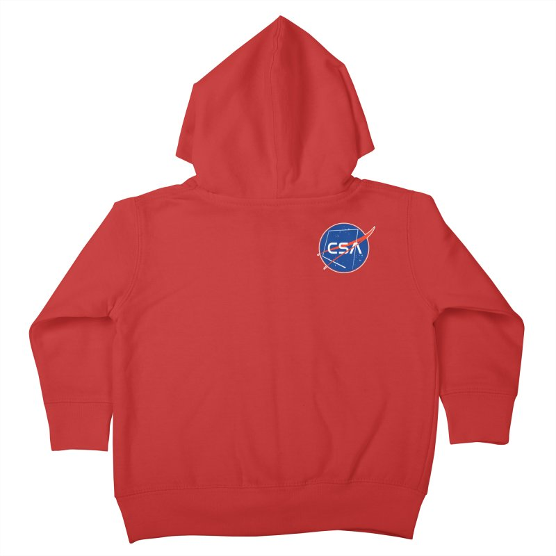 Camp Space Andrews Kids Toddler Zip-Up Hoody by Camp St. Andrews