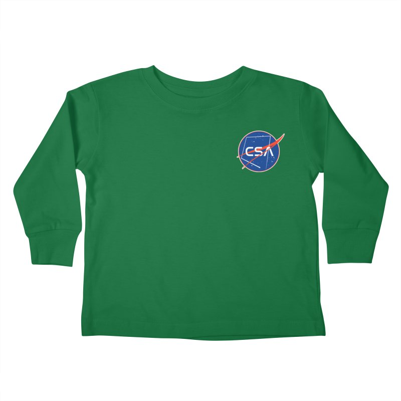 Camp Space Andrews Kids Toddler Longsleeve T-Shirt by Camp St. Andrews