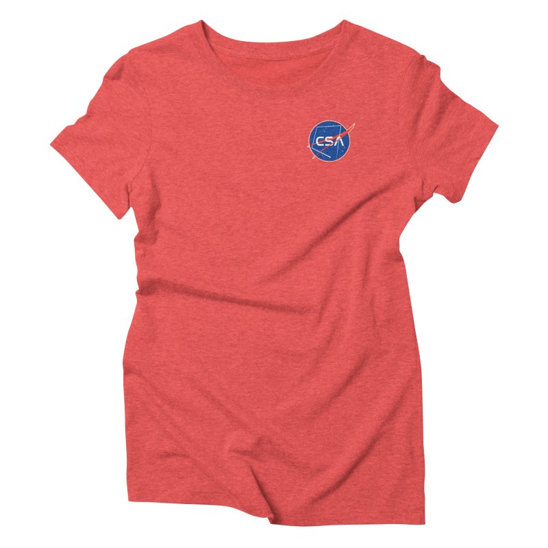 Camp Space Andrews Women's Triblend T-Shirt by Camp St. Andrews