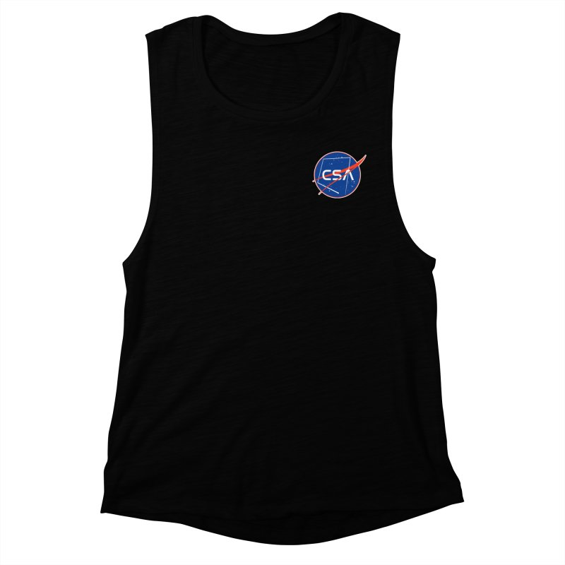 Camp Space Andrews Women's Muscle Tank by Camp St. Andrews