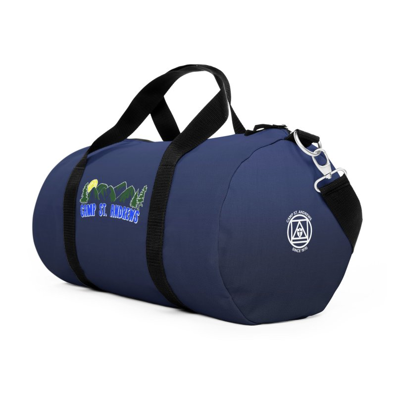 CSA Bags - Blue Mountains Logo Accessories Duffel Bag Bag by Camp St. Andrews