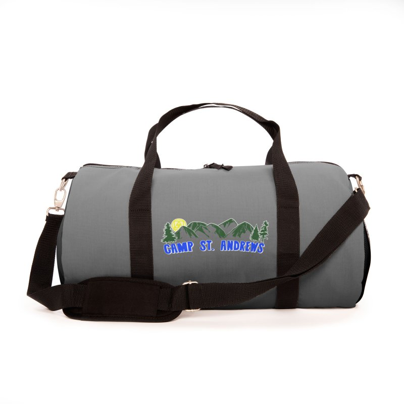 CSA Bags - Gray Mountains Logo Accessories Bag by Camp St. Andrews