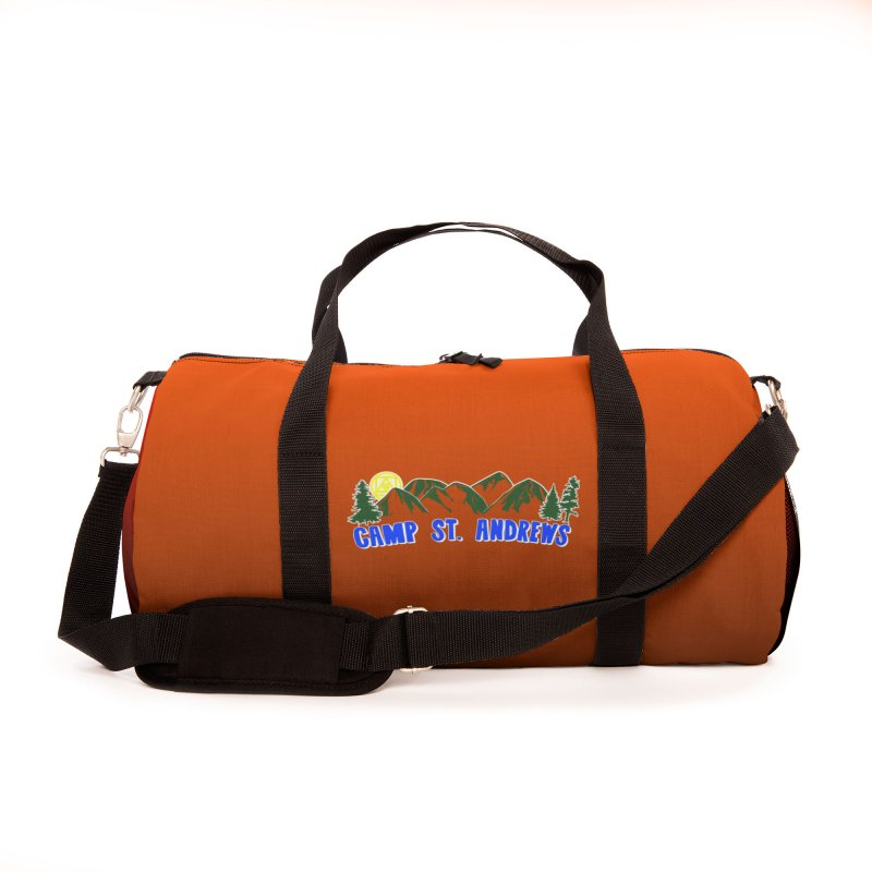 CSA Bags - Orange Mountains Logo Accessories Bag by Camp St. Andrews