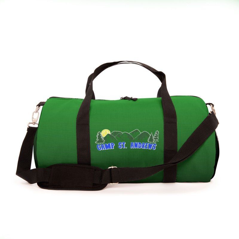 CSA Bags - Green Mountains Logo Accessories Bag by Camp St. Andrews