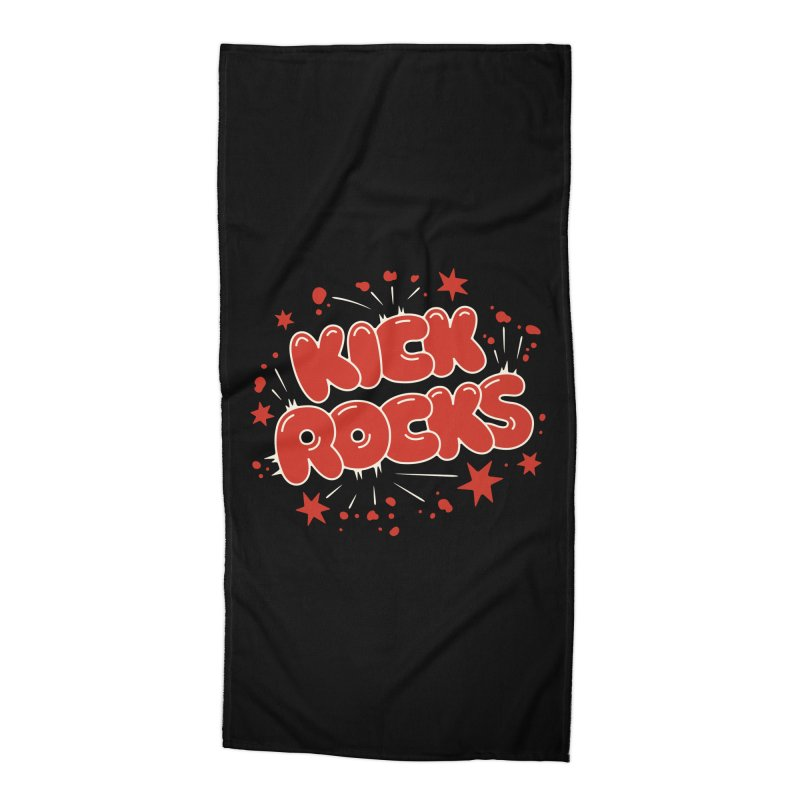 Kick Rocks Accessories Beach Towel by Cody Weiler