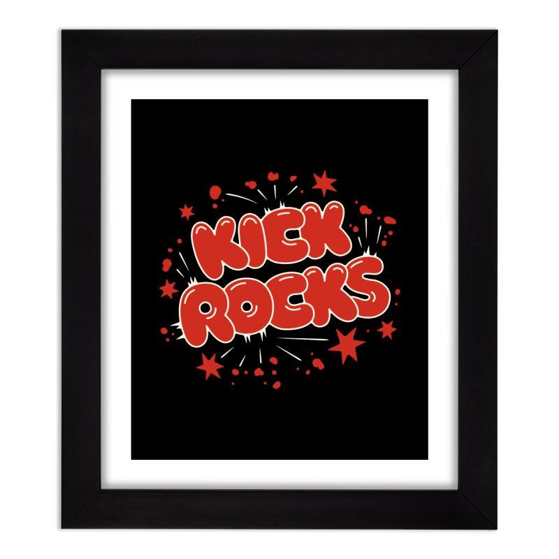 Kick Rocks Home Framed Fine Art Print by Cody Weiler