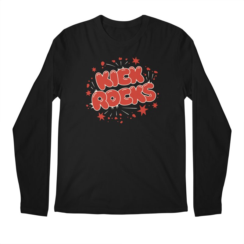 Kick Rocks Men's Regular Longsleeve T-Shirt by Cody Weiler